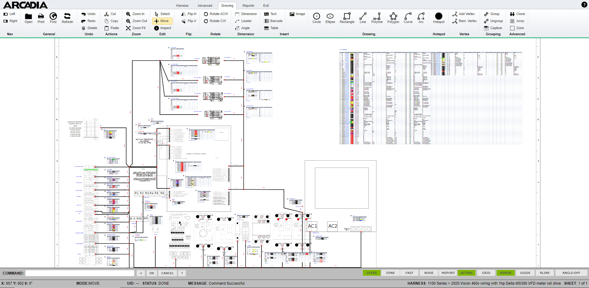 electrical schematic design software harness from schematic